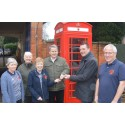 Phone box returns as BT answers call from Market Harborough