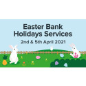 Easter bus timetables announced