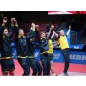 VM i Halmstad blev tidernas mest sedda lagtävling i bordtennis