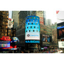 Times Square calling: Cavotec welcome on NASDAQ tower in Times Square