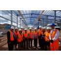 Hitachi Rail Europe celebrates progress on Stoke Gifford Train Maintenance Centre