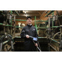 High tech udder scanner adds more precise data to Geno breeding programme