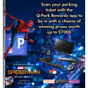 Q-Park teams up with Spider-Man: Homecoming for it's release on DVD & Blu-ray