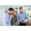 Boligkøbere lader sig ikke skræmme af stigende udbetalingskrav