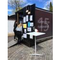 Den första september invigs Motalas kub för mänskliga rättigheter i Kungsträdgården