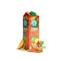 ProViva välkomnar mer frukt och grönt i hyllan! ‒ Äntligen är ProVivas nya smak Morot-Apelsin-Ingefära här!