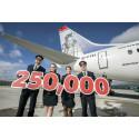 Norwegian soars to 250,000 passengers on flights from U.S. to Dublin