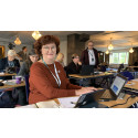 C-stämma: Ewa-May Karlsson (C) omvald i valberedning