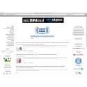 BIM Journal and BIMobject sign Letter of Co-operation - screenshot from bimjournal.com with the BIMobject banner