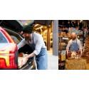 Nytt samarbete – ICANDERs väljer M   Volvo Car Mobility för smidig hemleverans av julbordet