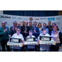 Simon, Elias en Thibeau winnen de Junior STEM Olympiade