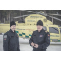 Helicopter ambulance crew opts for Swedish flight suits
