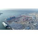 Godsvolymerna ökar i Göteborgs hamn