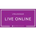 Utbildningar live online för måltidsverksamheter