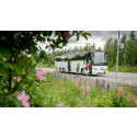 Ny busstrafik på helgerna mellan Kramfors-Docksta