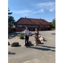 Nye fælles udearealer til Bistrupskolen og børnehusene Nordvanggårdsvej og Smedebakken