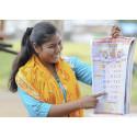Indien - utbildning i mensfrågor ger slående effekt