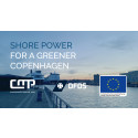 Copenhagen's first shore power facility is inaugurated for the DFDS ferries