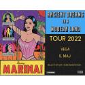 """I dag fredag 11. juni 2021 udgiver Marina sit femte studiealbum """"Ancient Dreams In A Modern Land"""", og annoncerer koncert på VEGA i København til maj næste år."""