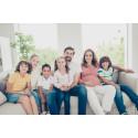 Færre store familier på boligmarkedet de seneste 10 år