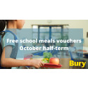 Bury to offer holiday school meal vouchers during October half-term