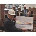 Councillors view progress on new £2.4million dredger
