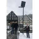 Sonnenstrom für Hohenburgs Straßen
