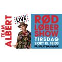 VERDENS FØRSTE YOUTUBE FILMGALLA LIVE!!! Følg gallapremieren på TEAM ALBERT live på YouTube tirsdag den 2. oktober kl. 18.00!