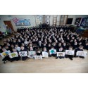 UK SCHOOL CHILDREN JOIN FIGHT TO SAVE THE ASIAN ELEPHANT