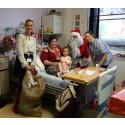 Santa helps ID Medical deliver joy to Milton Keynes children's ward