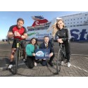 Stena Line saddles up for The Great Rugby Cycle