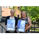Forskarna Katja Gillander Gådin och Heléne Dahlqvist är Månadens Nätänglar i maj