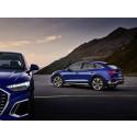 Säljstart för Q5 Sportback och SQ5 Sportback - sportiga, praktiska och eleganta