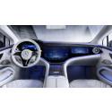 Banebrydende elektrisk luksus i Mercedes EQS