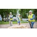 Historisk byggstart för Vänersborgs nya landmärke