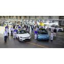 Volkswagens bilfabrik i Zwickau producerar nu endast elbilar