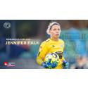 Målvakten som blev guld värd – Jennifer Falk framröstad till Månadens spelare i november