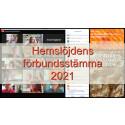 Svenska Hemslöjdsföreningarnas Riksförbunds stämma 2021