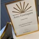 Ägaren till Ekholmsnäs Golf Lidingö belönad med utmärkelsen Årets Företagare på Lidingö 2021