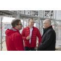 Eine Krone für Scandic Frankfurt Hafenpark: Scandic Hotels feiert Richtfest für neues Frankfurter Konferenzhotel