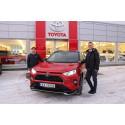 Toyota er Mosjøens mest kjøpte bilmerke i første kvartal