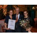 Helena, Lovisa och Per Stenström från Halland vinner andrapris i Årets Företagare i Sverige 2021!