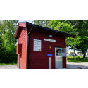Ny betalstation för vatten vid Handelsgatan i Bista i Örebro
