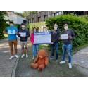 Team der HHL Leipzig Graduate School of Management spendet