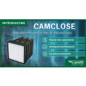 CamClose: New Generation Panel Air Filter for Turbomachinery