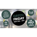 GREEN FRIDAY: HAGLÖFS TURNS BLACK FRIDAY UPSIDE DOWN BY DOUBLING ITS PRICES