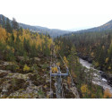 Drones replaced helicopters in the inspection of Skagerak Nett's entire power grid in Hjartdal municipality