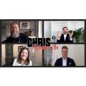 Föreläsare Chris Pettersson skapar ett nytt medium