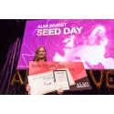 Prisregn över Almi Investbolag på Seed Day