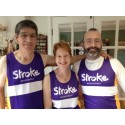 Six Striding for Stroke take on half marathon for the Stroke Association
